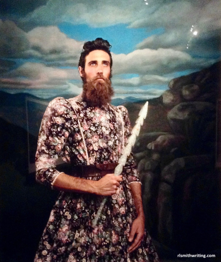 Jacqui Stockdale, Mann of Quinn from the series The Boho - 2015, Adelaide Biennial of Art, 2016. Art Gallery of South Australia.