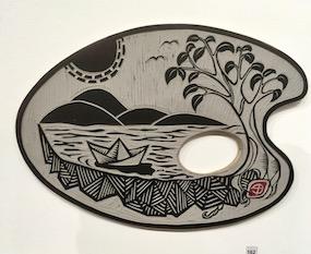Paper Boat.  Susan Barbic